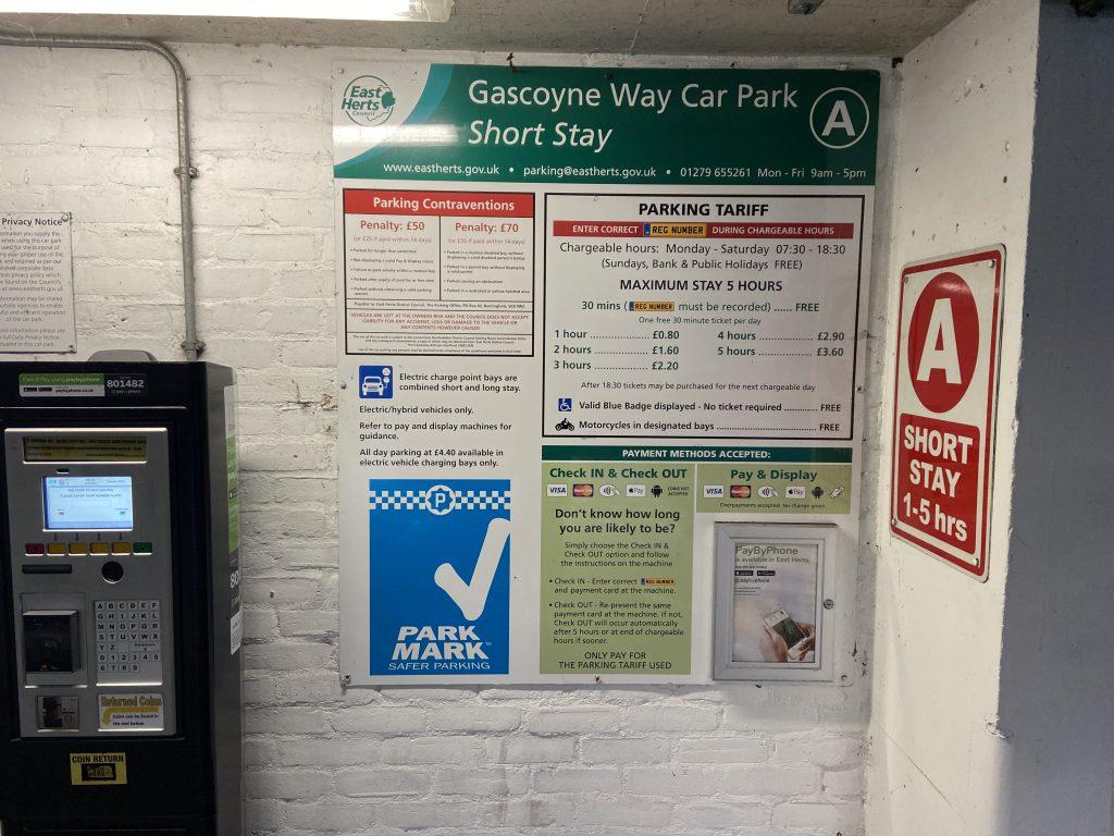 Gascoyne Way Notice
